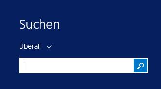 Ist ja hübsch, das neue Suchfeld von Windows 8.1. Leider überschreibt es das für OneNote-Nutzer so wichtige Tastenkürzel [WIN]+[S].