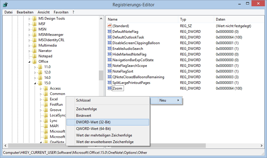 Mit einem Registry-Eintrag reaktivieren Sie die Screen-Clipping, allerdings mit der Tastenkombi [WIN]+[A].