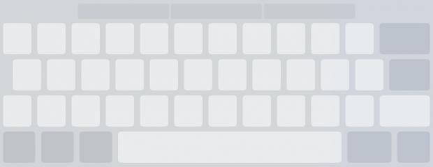 Der mit zwei Fingern aktivierte Touchpad-Modus erlaubt das Umwandeln der Bildschirmtatatur in ein ebensolches. Sie können den Cursor dann per Finger wie bei einem Notebook bewegen, auch in OneNote.