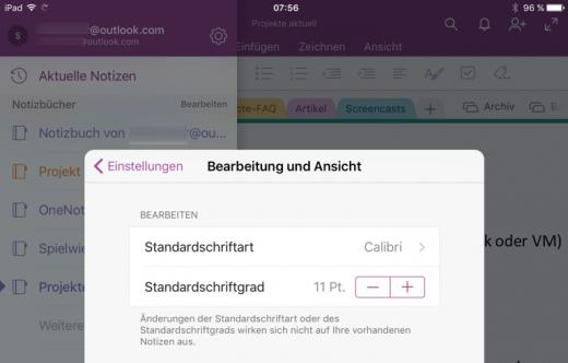 iOS-Standardschrift